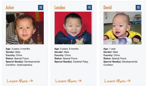 China Waiting Children Boys