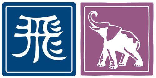 China-India Logos