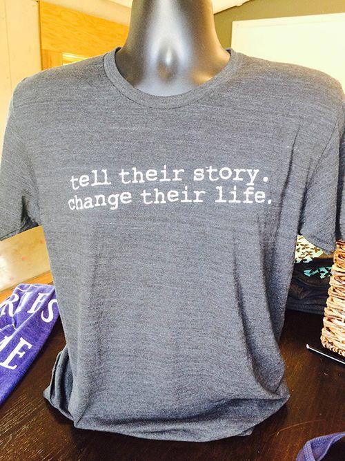 Mens Tell Their Story(Grey) 1