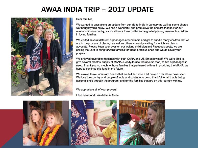 India Trip 2017