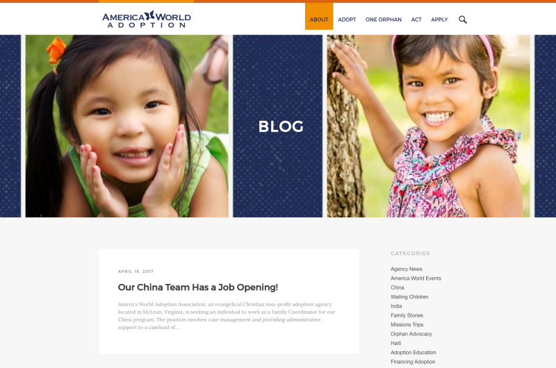 New AWAA Blog